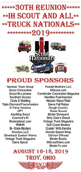 Home - 31st IH Scout & ALL Truck Nationals 2021